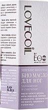 Kup Nawilżający bioolejek zmiękczający do stóp - ECO Laboratorie Lovecoil Foot Bio Oil