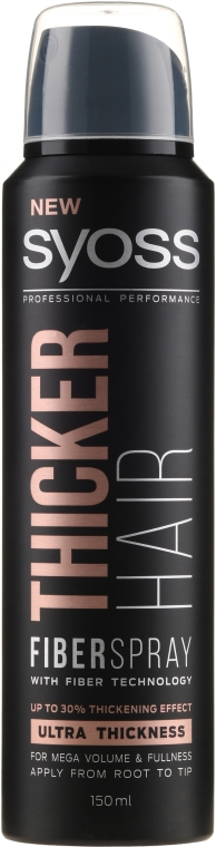Lakier zagęszczający włosy z technologią Fiber - Syoss Thicker Hair Spray