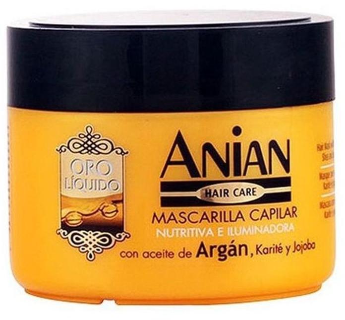 Maska arganowa do włosów - Anian Liquid Gold Hair Argan Mask — фото N1
