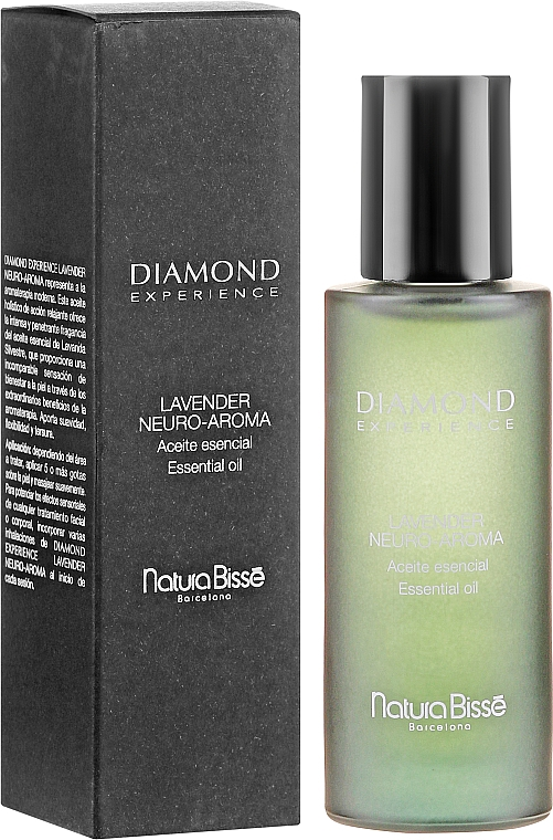 Olejek lawendowy do twarzy - Natura Bisse Diamond Experience Lavander Neuroaroma — фото N1