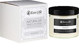 Kup Naturalna świeca sojowa Kokos - Eco Life Candles