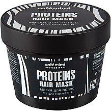 Kup Nawilżająca maska do włosów z proteinami - Café Mimi Professional Proteins Hair Mask