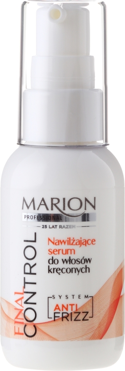 Nawilżajace serum do włosów kręconych - Marion Professional Final Control