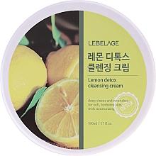 Kup Krem oczyszczający z ekstraktem z cytryny - Lebelage Lemon Detox Cleansing Cream