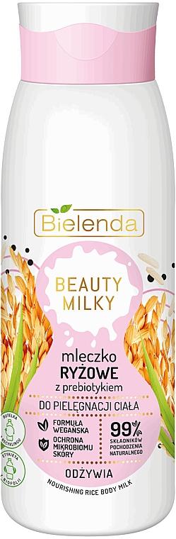 Mleczko ryżowe z prebiotykiem do ciała - Bielenda Beauty Milky Nourishing Rice Body Milk