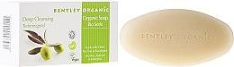 Kup Głęboko oczyszczające mydło kosmetyczne Oliwki, drzewo herbaciane i eukaliptus - Bentley Organic Body Care Deep Cleansing Soap Bar