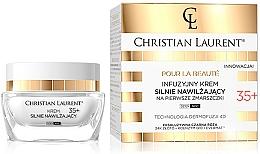Kup Infuzyjny krem nawilżający na pierwsze zmarszczki 35+ - Christian Laurent Infusion Intensely Moisturizing Cream Against First Wrinkles 35+
