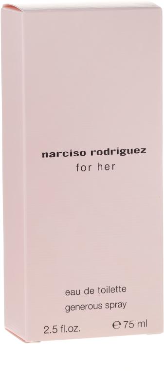 Narciso Rodriguez For Her Generous Spray - Woda toaletowa — фото N1