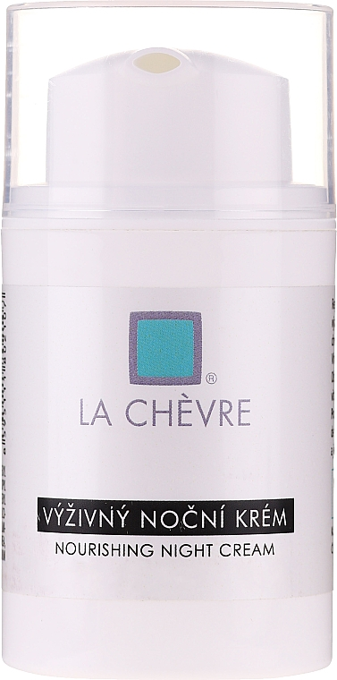 Odżywczy krem do twarzy na noc - La Chévre Épiderme Nourishing Night Cream — фото N1