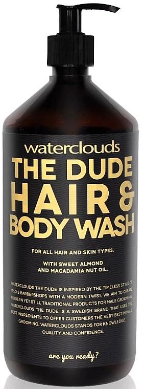 Szampon oczyszczjący - Waterclouds The Dude Hair And Body Wash — фото N2