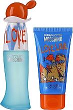 Kup Moschino I Love Love - Zestaw (edt 30 ml + b/lot 50 ml)