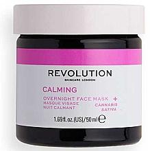 Kup Maska do twarzy na noc - Revolution Skincare Stressed Mood Calming Night Face Mask