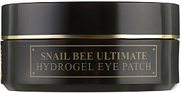Kup Hydrożelowe plastry pod oczy z mucyną ślimaka i jadem pszczelim - Benton Snail Bee Ultimate Hydrogel Eye Patch