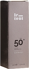 Kup Krem do opalania do twarzy SPF 50+ - Le Tout Facial Sun Protect