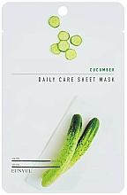 Kup Nawilżająca maska do twarzy na tkaninie z ekstraktem z ogórka - Eunyul Daily Care Mask Sheet Cucumber