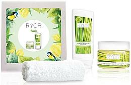 Kup Zestaw - Ryor Cosmetic Set For Men (sh/gel/200ml + peel/325ml + towel)