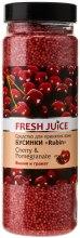 Kup Perełki do kąpieli - Fresh Juice Bath Bijou Rubin Cherry And Pomegranate