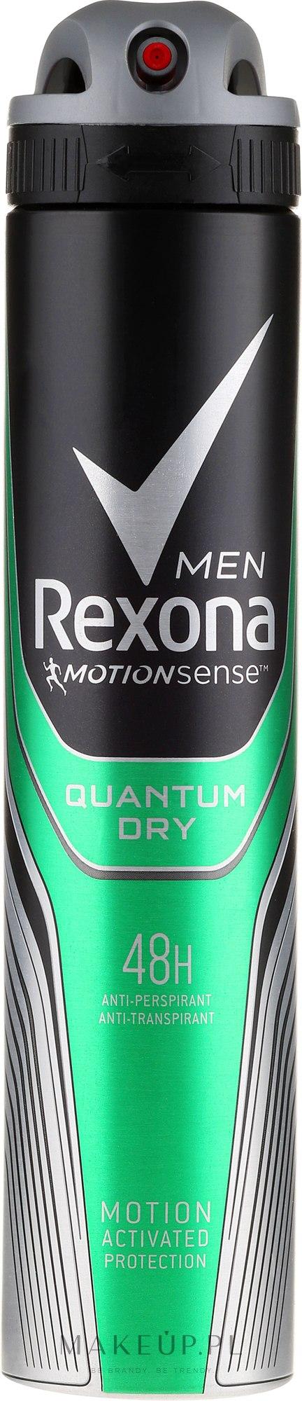 Antyperspirant w sprayu dla mężczyzn - Rexona Men Quantum Deodorant Spray — фото 200 ml