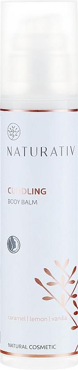 Perfumowany nawilżający balsam do ciała Karmel, cytryna, wanilia - Naturativ Cuddling Body Balm Carmel, Lemon, Vanila — фото N1