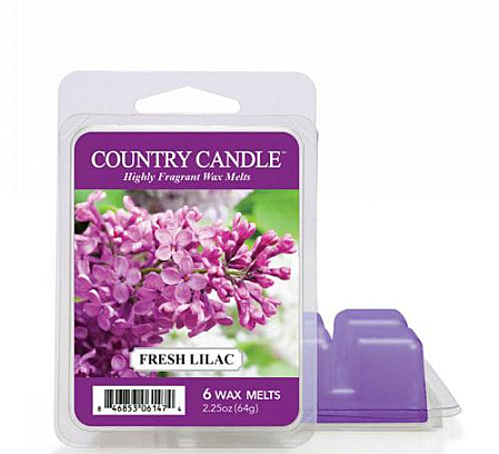 Wosk zapachowy - Country Candle Fresh Lilac Wax Melts — фото N1
