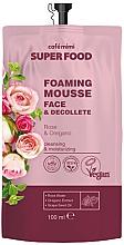 Kup Pianka do mycia twarzy i dekoltu Róża i oregano - Cafe Mimi Super Food