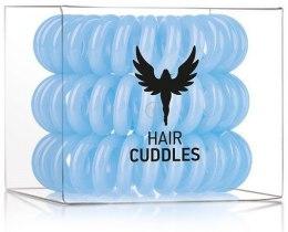 Kup Gumki do włosów, błękitne, 3 szt. - HH Simonsen Hair Cuddles Light Blue