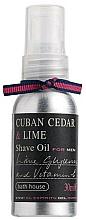Kup Olejek do golenia Cedrzyk wonny i limonka - Bath House Cuban Cedar & Lime