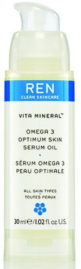 Optymalny olejek do twarzy - REN Vita Mineral Omega 3 Optimum Skin Serum Oil — фото N1