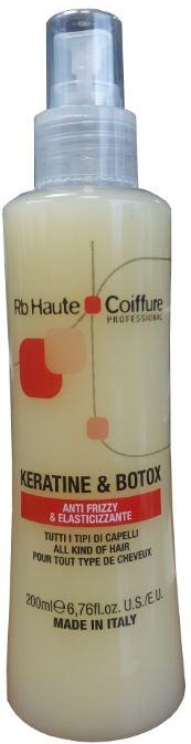 Regenerujący spray wygładzający włosy Keratyna i botoks - Renée Blanche Haute Coiffure Keratine & Botox Spray — фото N1