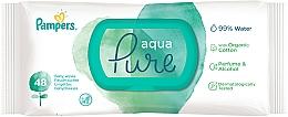 Kup Chusteczki nawilżane dla niemowląt, 48 szt. - Pampers Aqua Pure Wipes
