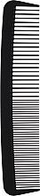 Kup Grzebień do włosów, czarny - Chicago Comb Co CHICA-6-CF Model № 6 Carbon Fiber