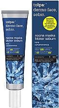 Kup Nocny bloker sebum - Tołpa Dermo Face Sebio Night Blocker Sebum Mask