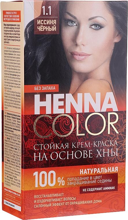 Trwała kremowa farba na bazie henny - FitoKosmetik Henna Color