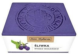 Kup Naturalne mydło w kostce Śliwka - Stara Mydlarnia Body Mania Plum Oil Natural Soap