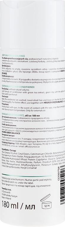 Odżywka do włosów przetłuszczających się i pozbawionych objętości - Hegron Green Balance Hair Conditioner — фото N2
