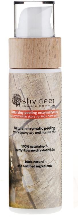 Zestaw świąteczny do skóry suchej i normalnej - Shy Deer (emulsion 200 ml + tonic 200 ml + peel 100 ml + cotton pad + keychain) — фото N6