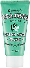 Kup Łagodząca maska odświeżająca na noc do twarzy - A'pieu Fresh Mate Tea Tree Mask
