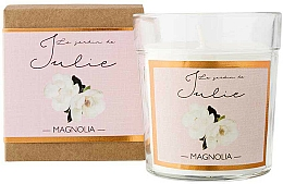 Kup Świeca zapachowa w szkle Magnolia - Ambientair Le Jardin de Julie Magnolia