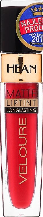 Długotrwały matowy tint do ust - Hean Veloure Matte Liptint Long Lasting