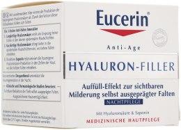 Kup Krem na noc wypełniający zmarszczki - Eucerin Hyaluron-Filler Night Cream