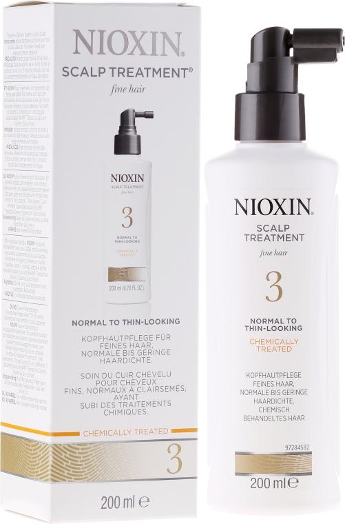 Odżywcza kuracja do włosów - Nioxin Thinning Hair System 3 Scalp Treatment — фото N1