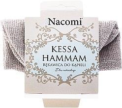 Kup Rękawica z lnu naturalnego do kąpieli - Nacomi Kessa Hammam