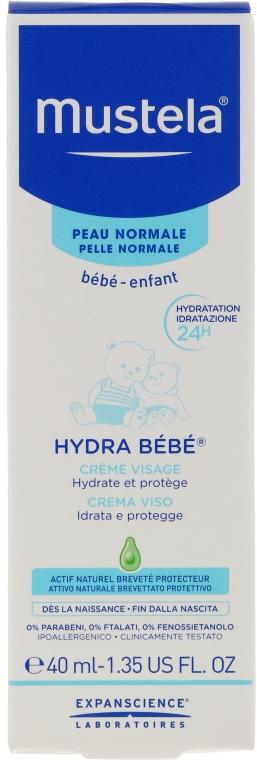 Zestaw - Mustela My Baby Bag Set (water/300ml + gel/shm/200ml + f/cr/40ml + b/cr/50ml + wipes/25pcs + bag) — фото N2