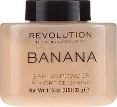 Kup Sypki puder bananowy do twarzy - Makeup Revolution Banana Baking Powder