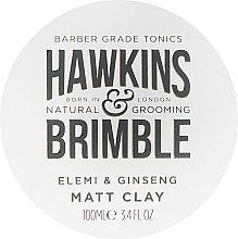 Kup Matowa glinka do włosów dla mężczyzn Elemi i żeń-szeń - Hawkins & Brimble Elemi & Ginseng Matt Clay