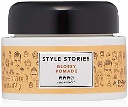Kup Nabłyszczająca pomada mocno utrwalająca do włosów - Alfaparf Milano Style Stories Glossy Pomade Strong Hold
