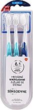 Kup Zestaw miękkich szczoteczek do zębów - Sensodyne Gentle Care Soft Toothbruhs