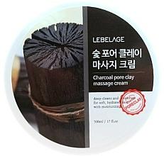 Kup Węglowy krem do masażu - Lebelage Charcoal Pore Clay Massage Cream