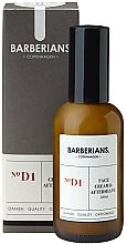Kup Krem po goleniu do twarzy - Barberians. №D1 Face Cream & Aftershave