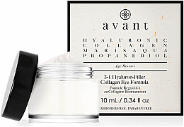 Kup Krem pod oczy 3 w 1 z kwasem hialuronowym - Avant Skincare 3-1 Hyaluron-Filler Collagen Eye Formula
